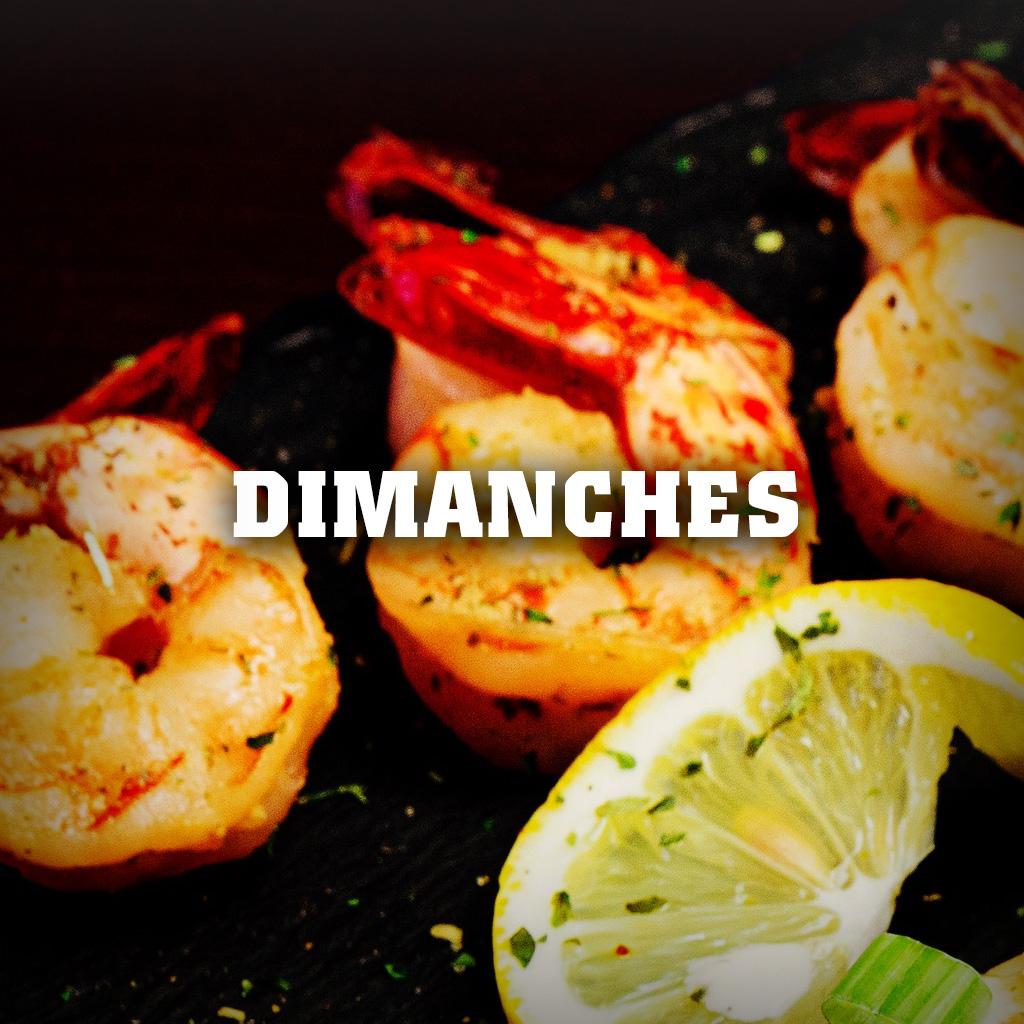 Promotion-Dimanche crevettes