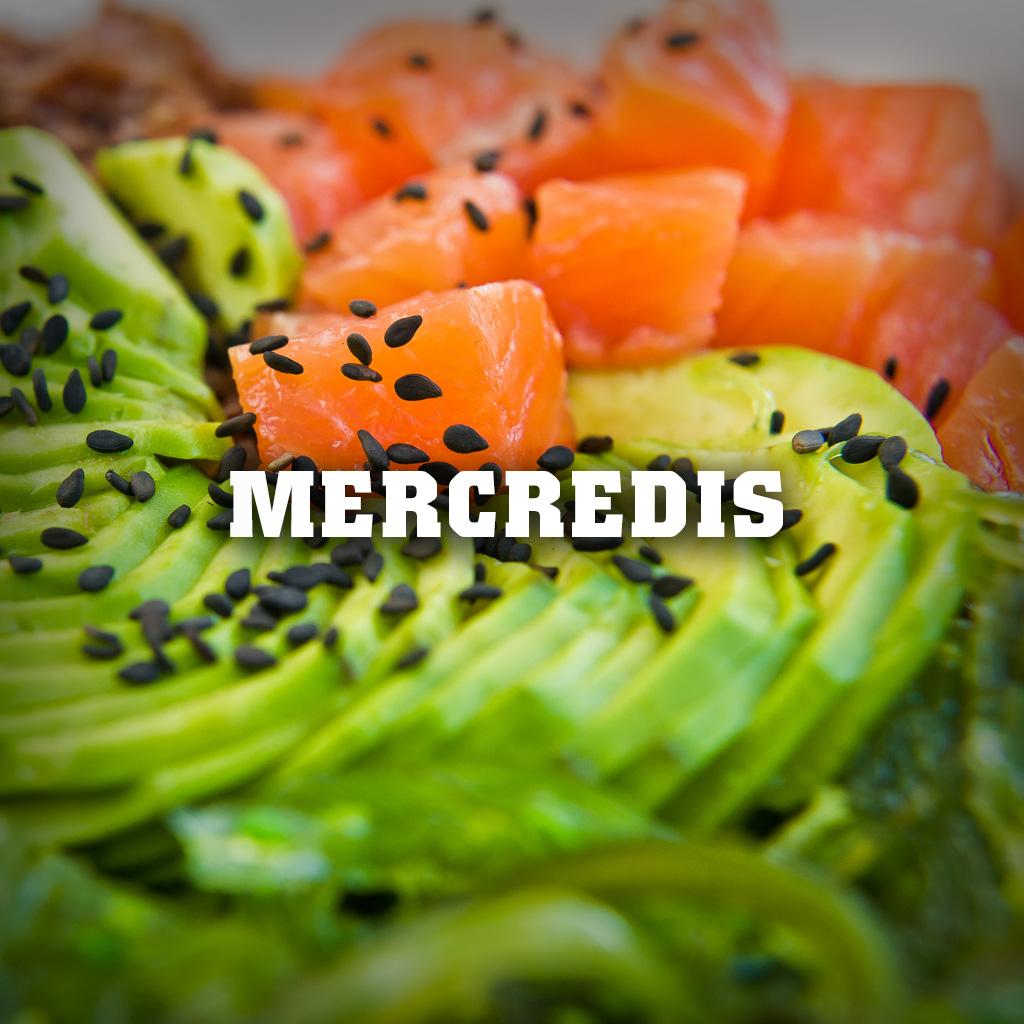 Promotion-Mercredis poke bowl
