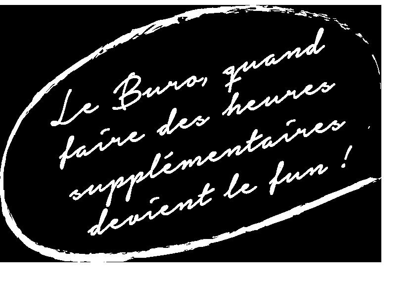 Element graphique-Buro heures supplémentaires